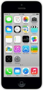 Repair of a broken Apple iPhone 5C Smartphone