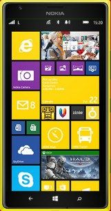 Repair of a broken Nokia Lumia 1520 Smartphone