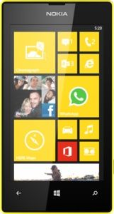 Repair of a broken Nokia Lumia 520 Smartphone