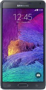 Repair of a broken Samsung Galaxy Note 4 Smartphone