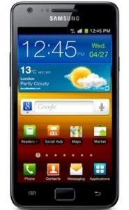 Price comparison for broken Samsung Galaxy S2 Smartphone
